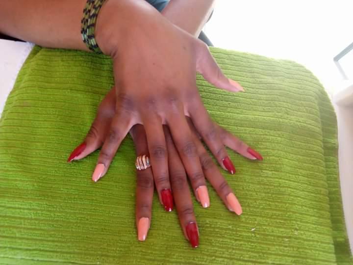 Trendy fashion nails