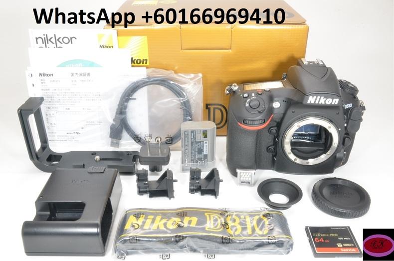 Nikon D810 36.3MP Digital SLR Camera Body