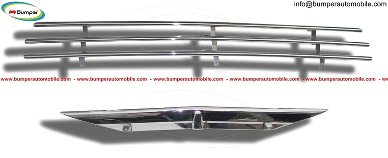 Saab 92 92B Grille (1949-1956) by stainless steel