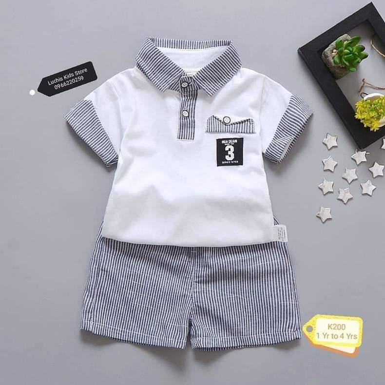 Boys Casual Shirts Suit