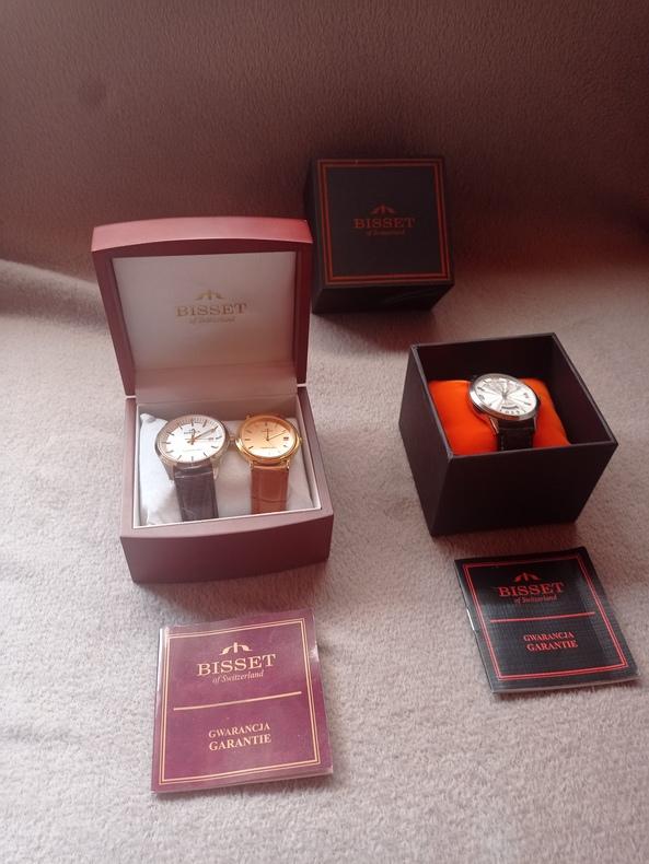 Branded watches BISSET from Europe Switzerland.