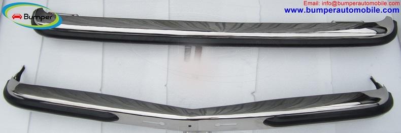 Mercedes W123 Sedan bumper (1976-1985) by stainless steel
