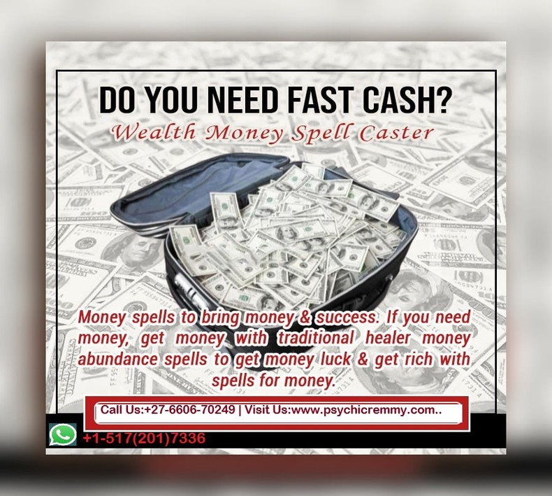 Instant Money Rituals to Become Rich in South Africa +27660670249/+1-517(201)7336 UAE,Qatar,USA,UK,Canada,Lesotho,Zambia,Zimbabwe,Austria,Australia,Italy,Spain