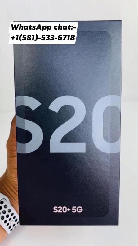 Brand New Samsung Galaxy S20+ Ultra 5G 256GB