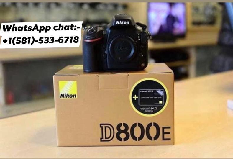 Brand New Nikon Camera D800E