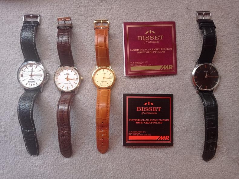 BRANDED BISSET Watches !