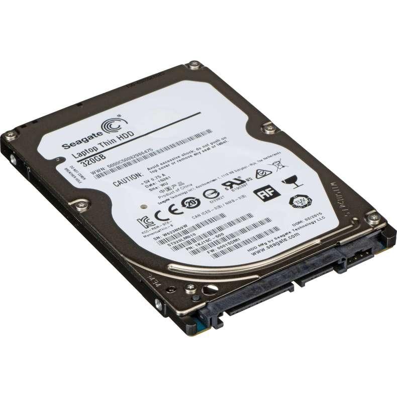 320 GB SATA internal laptop hard drive