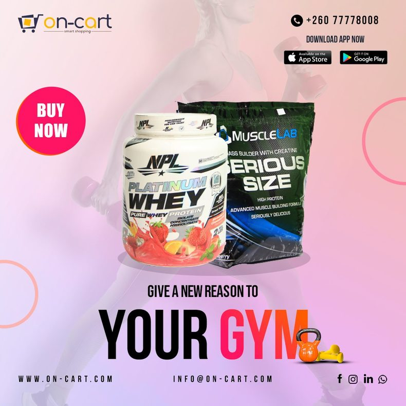 Buy Health-Fitness Products Zambia