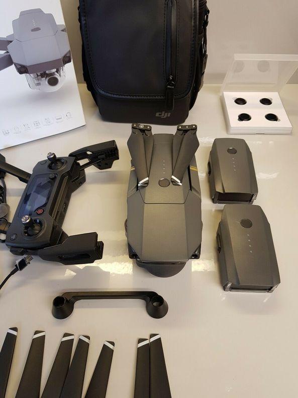 Dji Mavic Pro Fly More Combo 3 Batteries