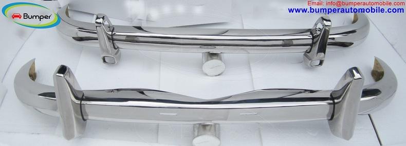 Mercedes Ponton W105 W180 W128 Saloon bumpers (1954-1959)