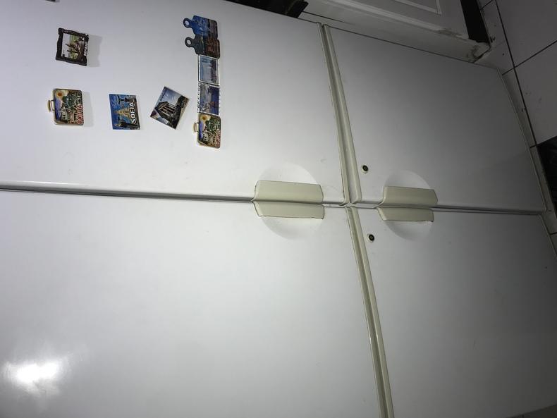 4 door refrigerator.