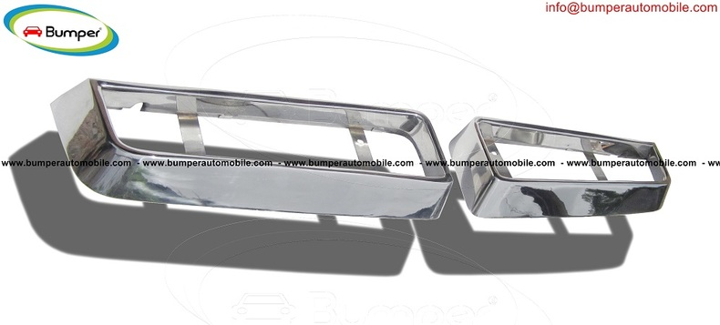 Maserati Bora Grille (1971-1978) by stainless steel