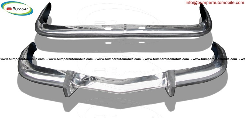 BMW 2800 CS bumper (1968-1975) by stainless steel